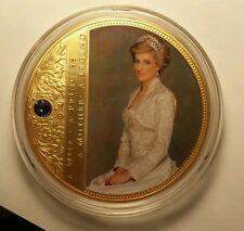 PRINCESS DIANA COMMEMORATIVE COIN  Gold-Layered with Swarovski® crystal
