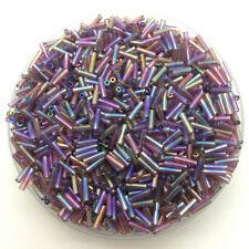 2X2mm 800pcs Czech Glass Tube Bugle Beads DIY Jewelry Making #Gzi2m07