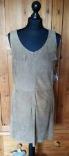 Marc Cain Suede Dress Size N4/14 Colour honey