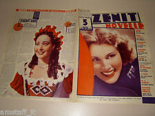 FRANCES DEE=CLARA MAIS=1938/5=Novelle Zenit=Cover magazine=ACTRESS=ATTRICE=
