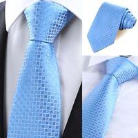 8CM Men Jacquard Woven Classic Tie Necktie Business Wedding Party Ties Colors