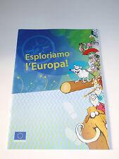 Esploriamo l'Europa Fumetto Rivista educativa per ragazzi Unione Europea