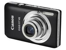 Canon IXUS 117 HS 12.1MP Digital Camera - Black BRAND NEW