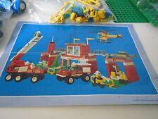 Lego Blaze Brigade 6554 Fire Trucks Firemen Helicopter Ladder MInifigures