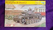 Dragon 6394 1:35 Pz.Kpfw.III Ausf.J Medium Tank Model Kit Panzer *SEALED BAGS*