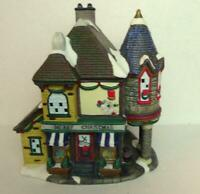 Grandeur Noel Victorian Village Grocery Shop Merry Christmas 2001