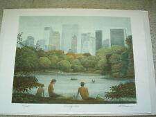 "HAROLD ALTMAN Original Lithograph ""Family 1986"" - Pencil S/N"