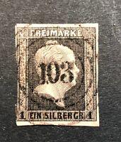 Preußen  Michel Nummer 2 gestempelt Berlin