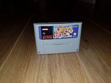 Streetfighter 2 (II) Turbo Super Nintendo SNES Cartridge PAL