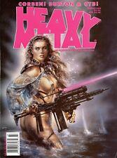 "HEAVY METAL Mag Cover Original OOAK GUN RIFLE 8.5"" x 3"" Loose Female SUPER RARE!"