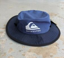 Quicksilver Boy's 2 - 7 Real Gel Bucket Hat Unisex Beach - 53 cm - New with Tags