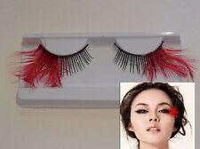 Faux cils DELICATE ROUGE PLUMES Tails réutilisable Fantaisie cils maquillage