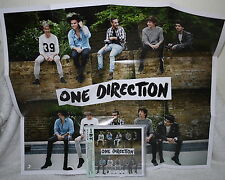"One Direction Steal My Girl 2014 Taiwan CD w/OBI +""Folded"" poster"