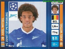 514 AXEL WITSEL BELGIQUE FC ZENIT STICKER CHAMPIONS LEAGUE 2014 PANINI