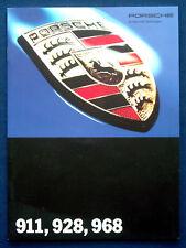 Prospekt brochure Porsche 911 * 928 * 968 (D, 1993)