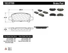 Disc Brake Pad Set-C-TEK Metallic Brake Pads Rear Centric 102.07700
