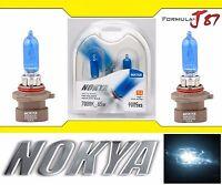 Nokya 7000K White 9005XS HB3A Nok7420 65W Two Bulbs Head Light High Beam Replace
