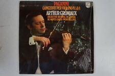 Paganini Violinkonzerte 1 4 Arthur Grumiaux Orchestre National de l'Opéra (LP17)