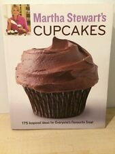 MARTHA STEWART'S Cupcakes Recipe Book 175 Ideas Baking Cakes Novelty