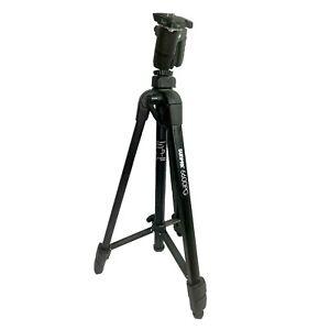 Platinum Plus 6000PG Camera Tripod by Sunpak 61 inch Black Gently Used