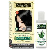 Herbal Hair Dye Henna 100% ORGANIC Natural Chemical Free  Kit No PPD Shampoo
