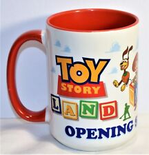 Disney Hollywood Studios Exclusive Toy Story Land Opening Day Coffee Mug Cup NEW