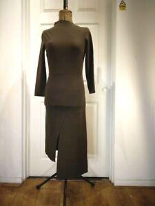 Dagmar Brown Dress Size S RRP345