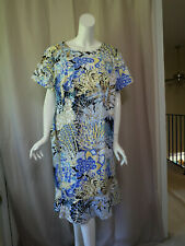 NWT New Talbots Print Dress size 22W 1X
