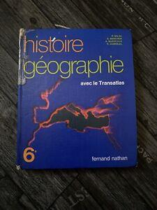 Fernand Nathan histoire et géographie 6e