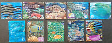 US#3831a-j used* 2004 Pacific coral reef Nature in America. We combine shipping