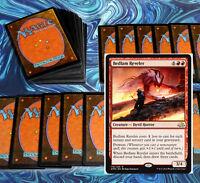 mtg BLUE RED IZZET SPELLS DECK Magic the Gathering rare 60 cards  bedlam reveler