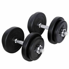 20kg Everfit Dumbbell Set Gym Plates Fitness Dumbbells Weights Exercise Training