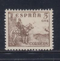 ESPAÑA (1949) NUEVO SIN FIJASELLOS MNH - EDIFIL 1044 (5 cts) CID