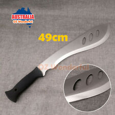 49cm Machete Survival Knife Blade Bush Hunting Camping Combat Knife Tactical New