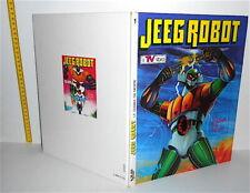 JEEG ROBOT D'ACCIAIO - LA GUERRA DEI MOSTRI 1980 Salani italy maxi book - libro