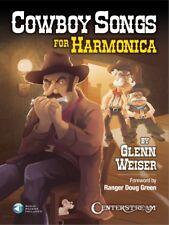 Cowboy Songs for Harmonica Harmonica Book and Audio NEW 000242719