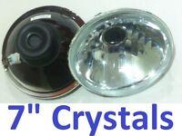 "Crystal Beam 1 pair 7"" Headlights Holden HR HD HJ HK HT Premier Kingswood Monaro"