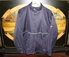 Womens Large / Mens Medium Navy Blue WeatherTec Golf Jacket C&B Xpressbet
