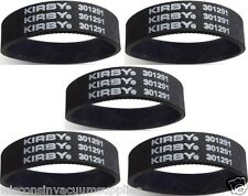 5 Kirby Genuine Belts Upright Vacuum Cleaner Mpn 301291 Belts are Knurled