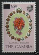 Gambia 1982 Royal Wedding SG 467 MNH