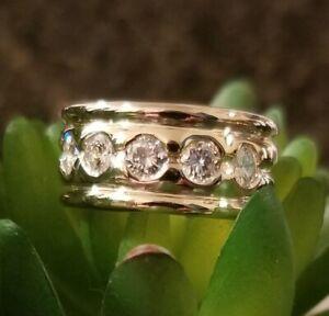 14k Diamond Band Sz 7 - 12.6 grams with appraisal -$5,999