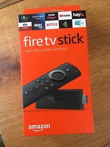 Amazon Fire TV Stick (2nd Generation) Media Streamer with Alexa Voice Remote...
