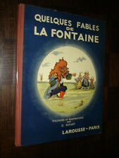 QUELQUES FABLES DE LA FONTAINE - Epilogues et Illustrations de G. Ripart