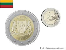 2 Euros Commémorative Lituanie Dzukija 2021 UNC