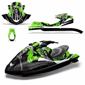 Decal Graphic Kit Yamaha Ski Wrap Jetski Waverunner Wave Runner 02-05 REAP GREEN