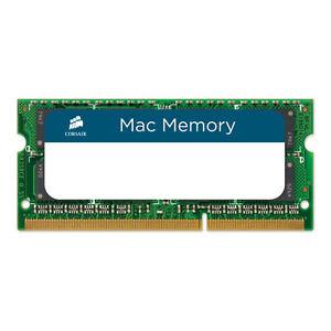 Corsair Memory 1066MHz CL7 4GB (4x1) DDR3 Laptop SODIMM Non ECC RAM For MAC