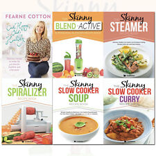 Cook Happy, Cook Healthy and Skinny Soup Recipe Book Collection 6 Books Set Pack