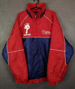 RARE G-III SPORTS PHILADELPHIA PHILLIES BASEBALL WINTER JACKET 2008 SIZE 2XL XXL