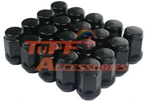 10 Pcs 12X1.5 19MM BLACK WHEEL NUT For some Ford, Toyota, Honda, Lexus, Holden