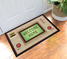 Game & Watch Nintendo Retro Handheld Game Welcome Home Doormat Mat